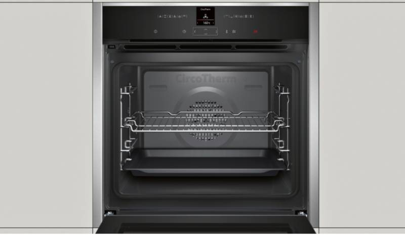 b17cr22n1 neff luxe gamma van siemens oven warme lucht multifunctie elektro loeters. Black Bedroom Furniture Sets. Home Design Ideas