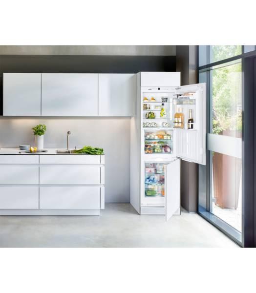 icbn337620 liebherr frigo cong lateur combination encastrable elektro loeters. Black Bedroom Furniture Sets. Home Design Ideas