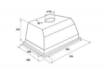 akr650ix whirlpool hotte groupe aspirant elektro loeters. Black Bedroom Furniture Sets. Home Design Ideas