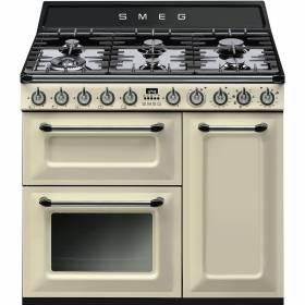 tr93p smeg cuisini re avec taque de cuisson au gaz elektro loeters. Black Bedroom Furniture Sets. Home Design Ideas