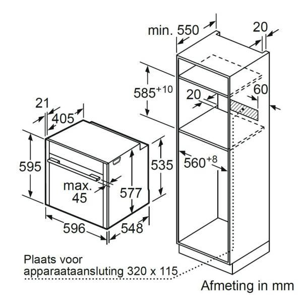 b47fs22n0 neff luxe gamma van siemens four avec un function de vapeur elektro loeters. Black Bedroom Furniture Sets. Home Design Ideas