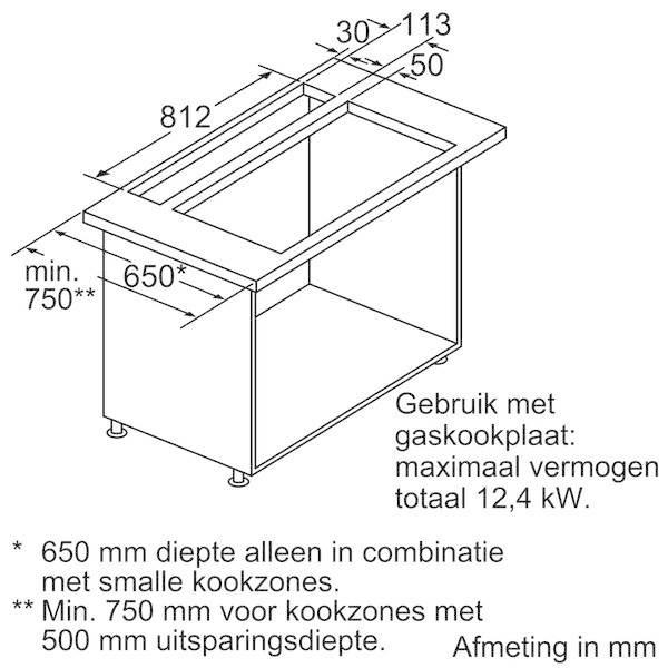 Plan de travail 90 cm beautiful x cm schma avec les for Plan travail 90 cm profondeur