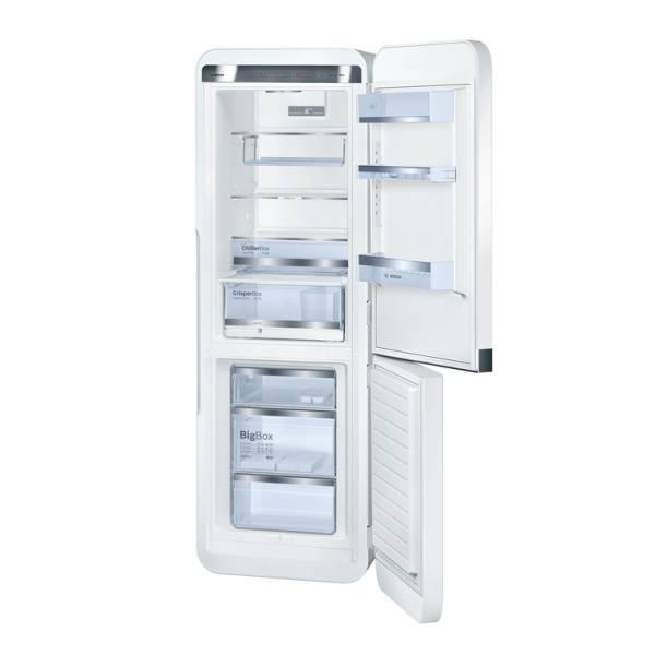 kce40aw40 bosch koelvriescombinatie vrijstaand elektro loeters. Black Bedroom Furniture Sets. Home Design Ideas