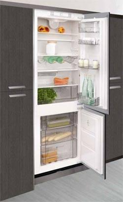 inbouw koelkast diepvries combinatie